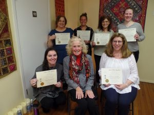 Connie & the Reiki One graduates