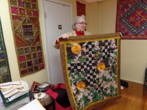 Dorothy's beautiful quilt